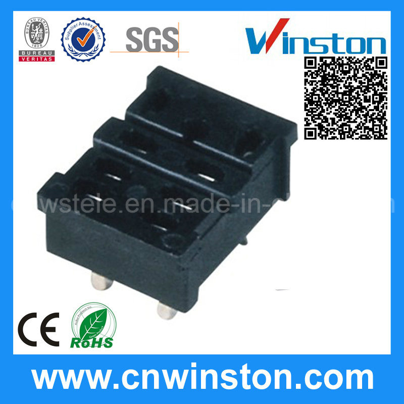 General Square Type Electro-Magnetic Industrial Power Relay Socket with CE