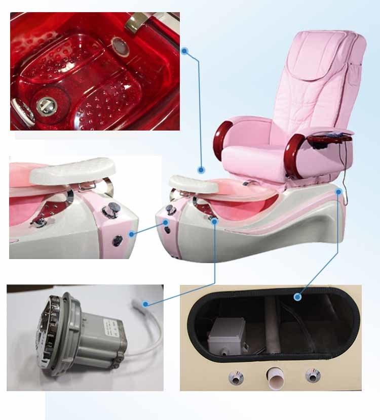 Nail Salon Spas Massage Chair (A202-37-D)