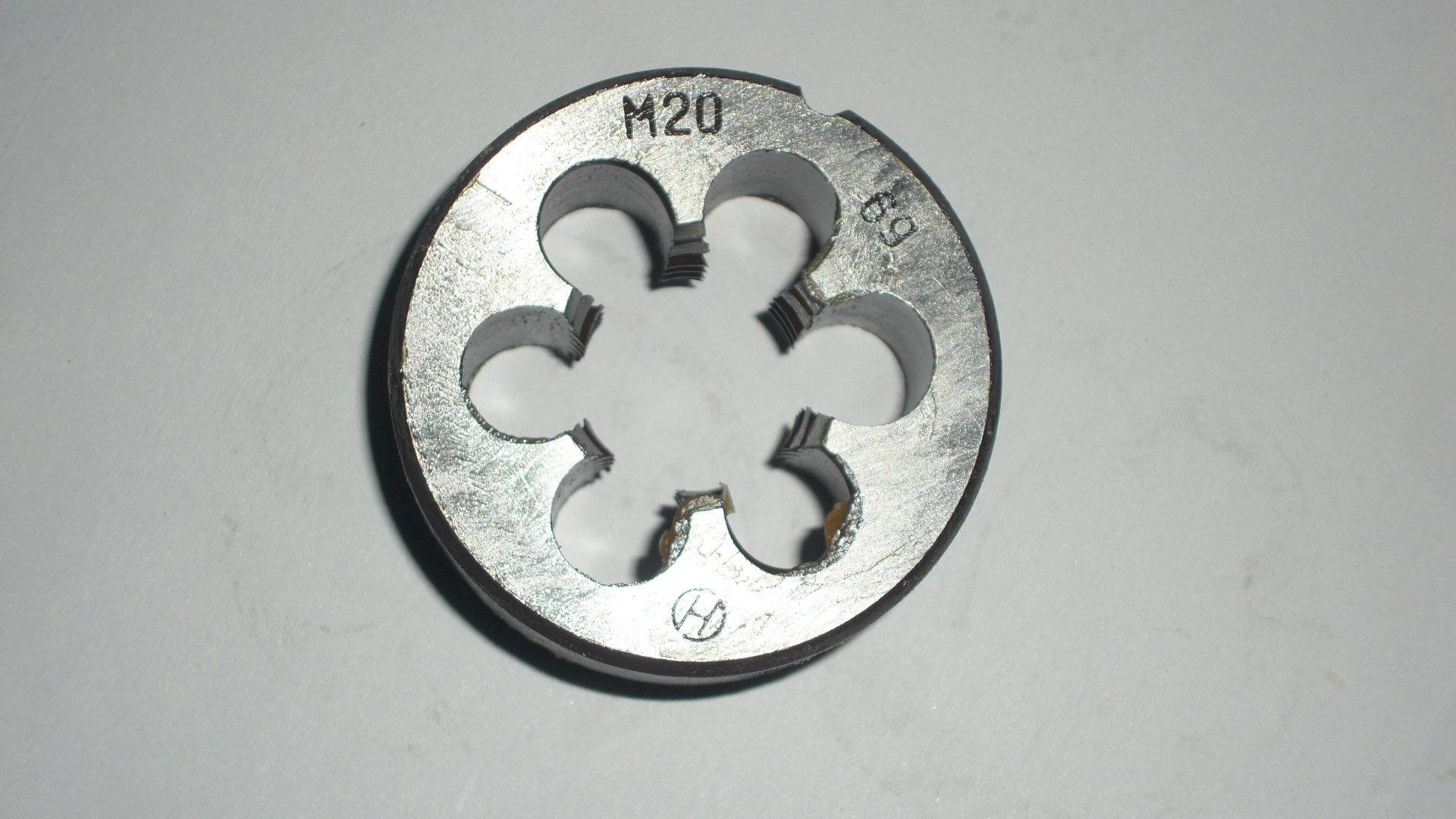 HSS Metric Round Dies