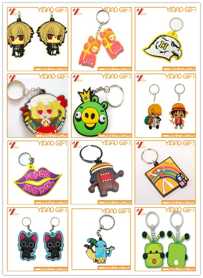 Customed Soft PVC Keychain for Promotion Gift