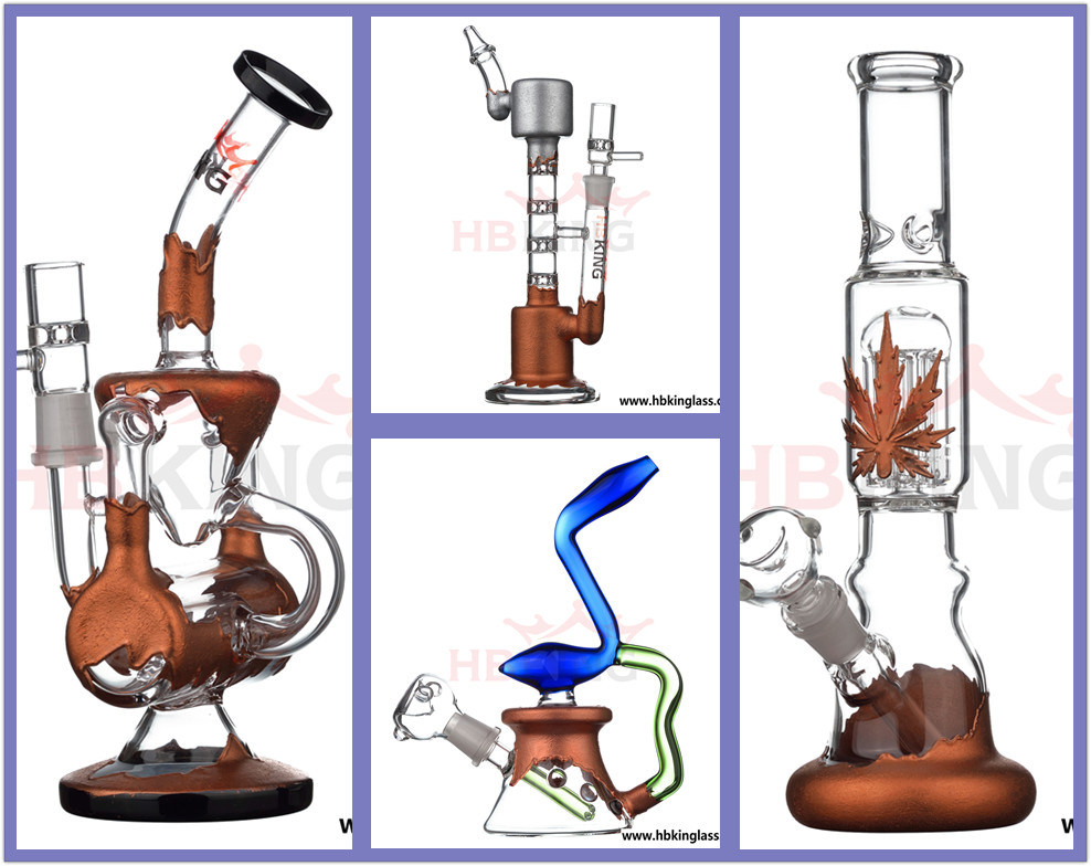 Wholesale High-End Oil DAB Rig Glass Water Pipe Glass Smoking Pipe in Stock