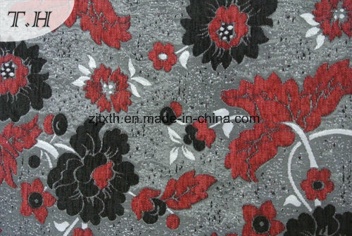 2017 Hot Stamping Processing Jacquard Sofa Fabric by 460 GSM