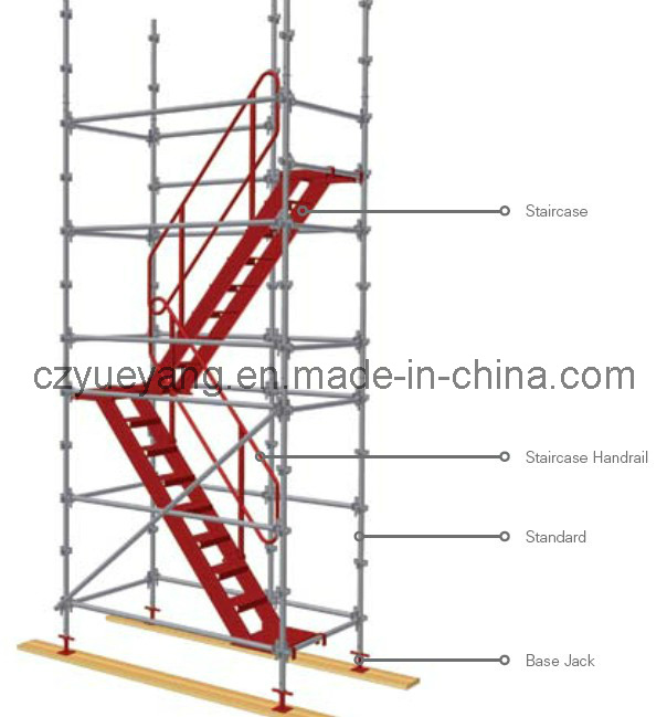 Aluminum Scaffold Stairs : China kwikstage modular scaffolding system aluminium