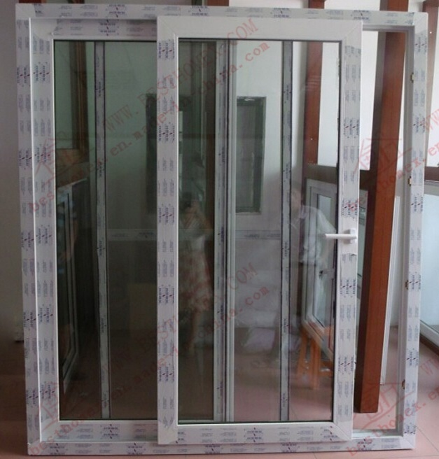 Superior Quality Woodgrain PVC Sliding Window (BHP-SW13)