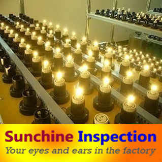 LED Lamps/ Solar LED Lamps Inspection/ Pre-Shipment Inspection