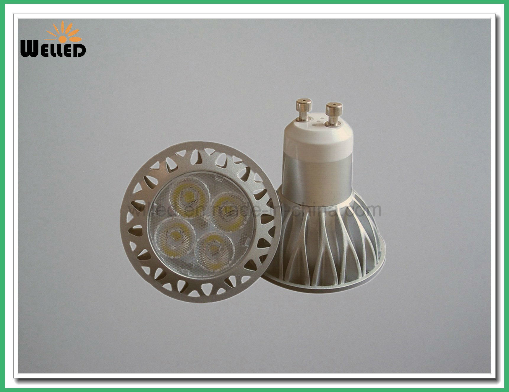 5W 6W GU10 LED Bulb Lamp AC85-265V SMD LED Lamp Light GU10 Gu5.3 for Recessed LED Downlight Fitting