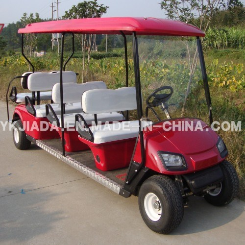 CE Approved 8 Seat Electric Sightseeing Golf Kart (JD-GE503B)