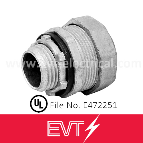 Zinc Liquid Tight Conduit Connector Straight Type