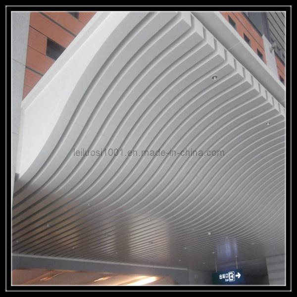 China exterior aluminum curved ceiling design interior for Exterior ceiling design
