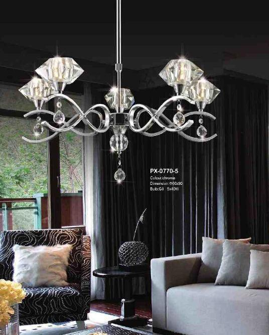 New Product Tiffany Suspension Lamp (PX-0770-5B)