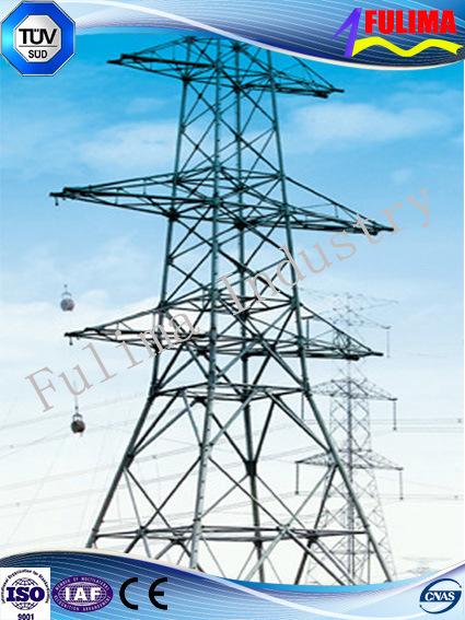 10-1000kv Carbon Steel Transmission Line Iron Tower (FLM-ST-013)