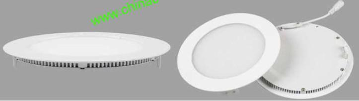 9W LED Down Light Recessed Round LED Panel Light