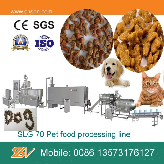 Automatic Dry Pet Food Processing Machinery