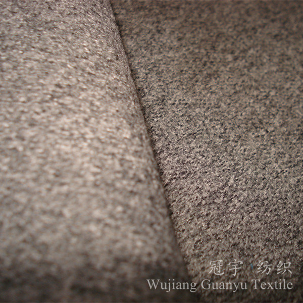 Decorative Cashmere Fabric Polyetser and Nylon Mixed for Home