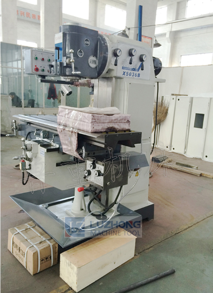 Milling-Machine X5036b-1 Dro Milling Machine