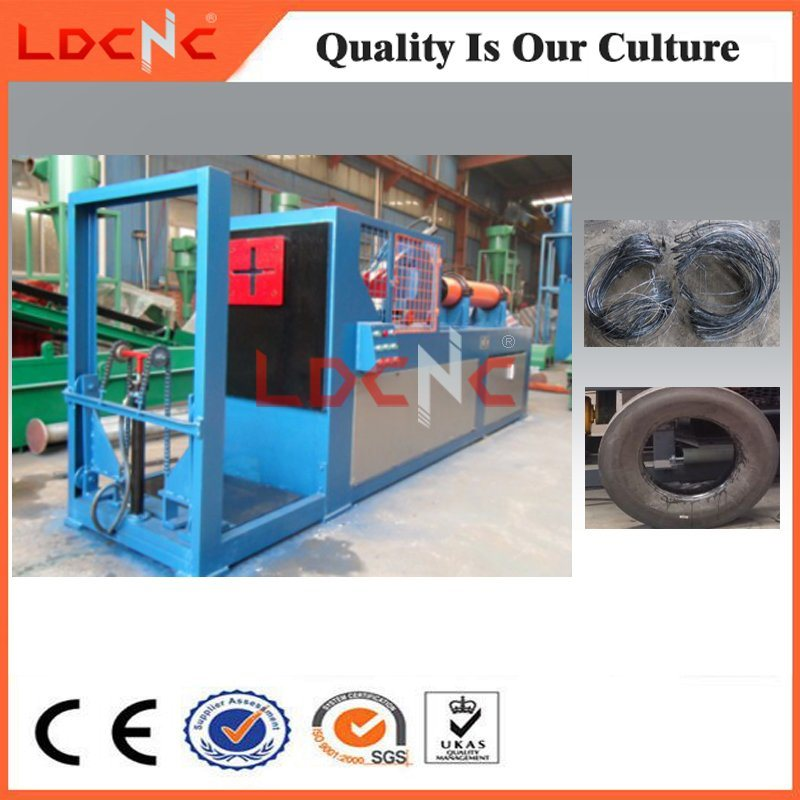 Scrap/Waste Car Rubber Tire Shredder/Cutting Manufacturer