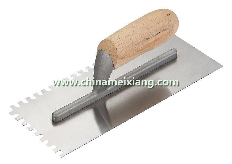 11x5′′ Notch Trowel, Finish Trowel, Plaster Trowel (MX9005)