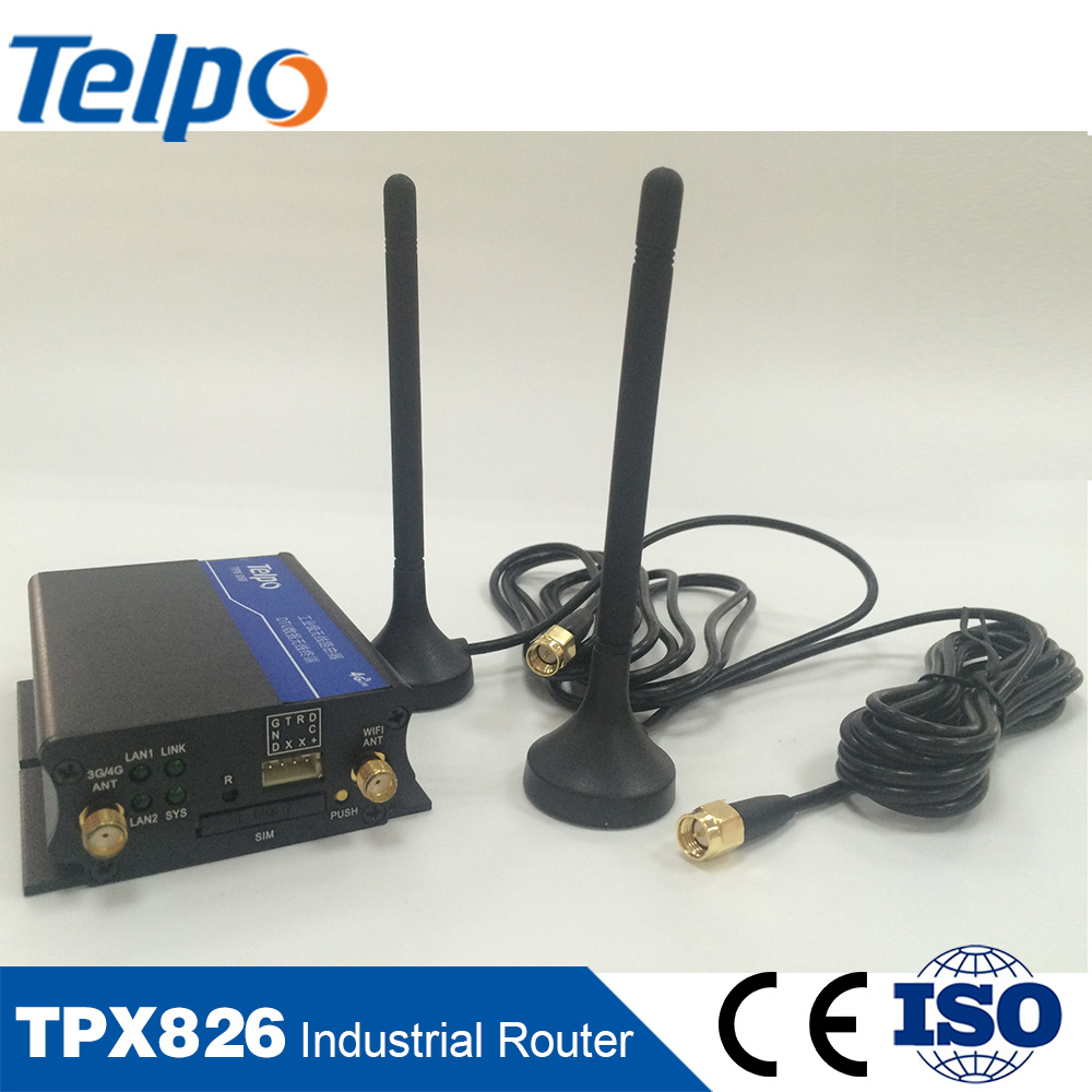 Best Sellers Industrial WiFi 3G 4G Router M2m for Buses