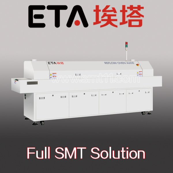 SMT Reflow Oven, SMD/LED Soldering Machine, Infrared IC Heater