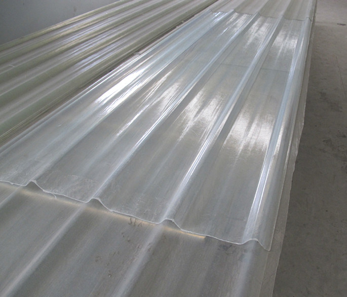 Feuille transparente de toiture dz 840y feuille - Plaque toiture transparente ...