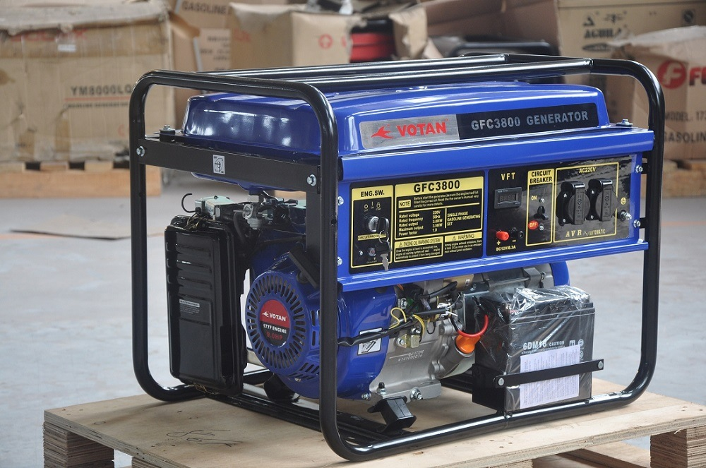 Gasoline Generator 9HP, 3kw
