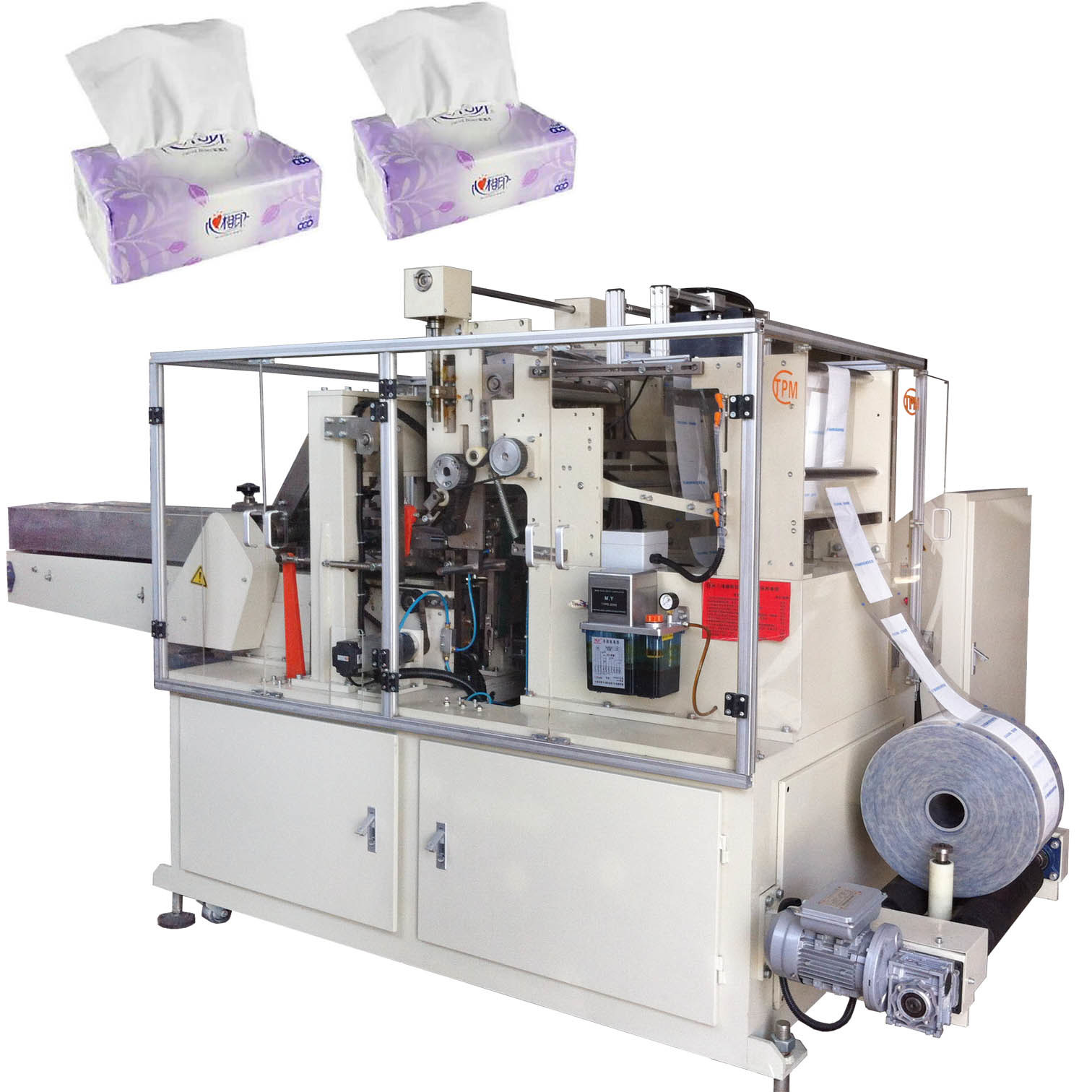Automatic Soft Facial Tissue Paper Packing Machine
