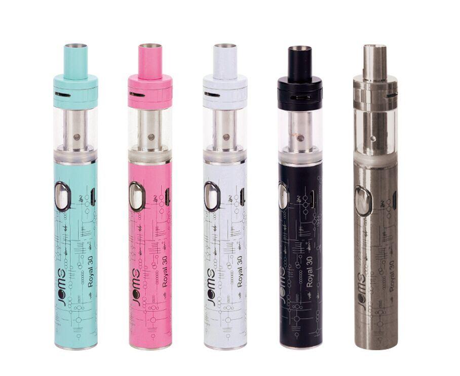 New 510 Trend Slim Vape Pen Jomo Royal 30 Watt Vaporizer Pen