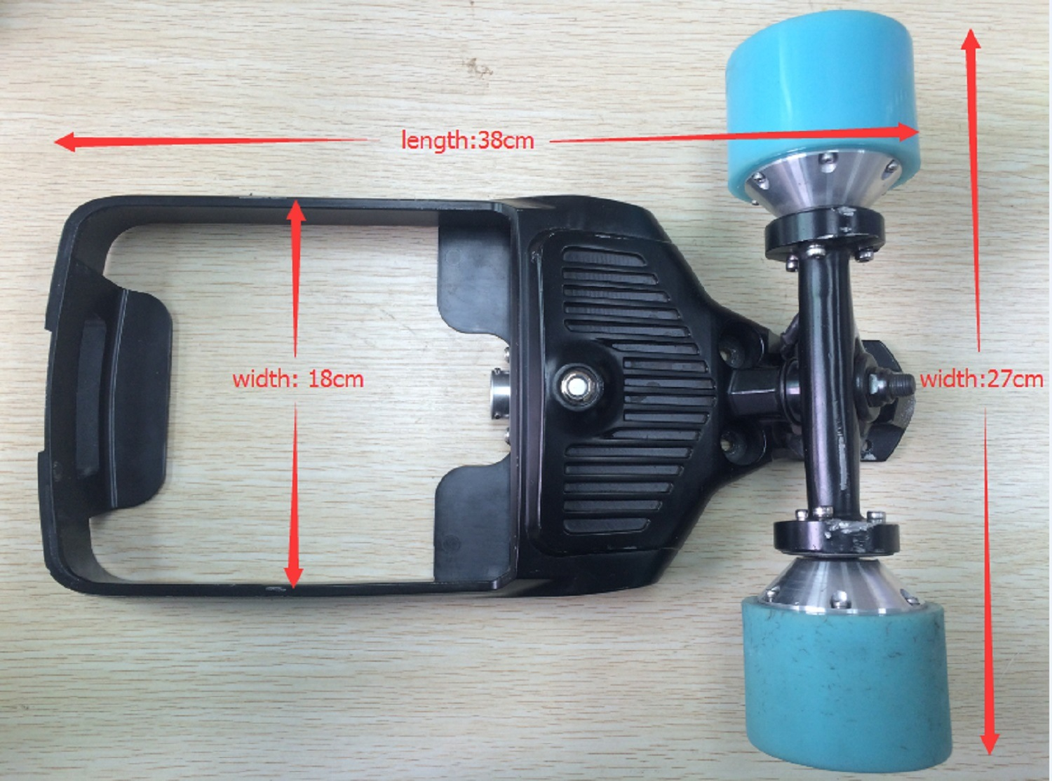 Four Wheel Electric Skateboard Spare Parts