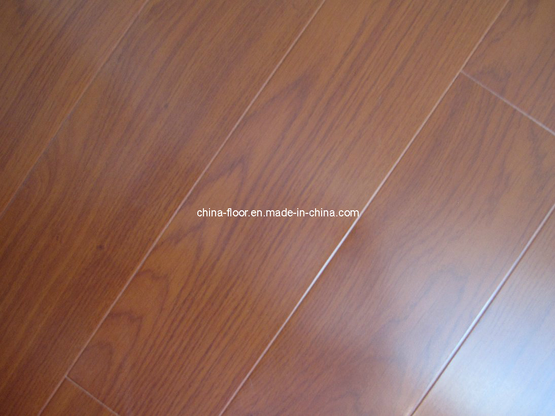 Distress AC5 V-Groove Laminate Wooden Flooring