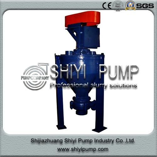 Wear Resistant Water Treatment Centrifugal Vertical Froth Pump