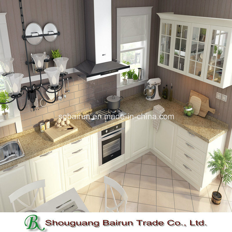 Panel Kitchen Furniture Melamine Kitchen Cabinet