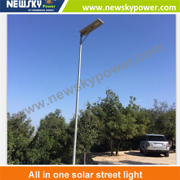 LED Integrated All in One LED Solar Street Light