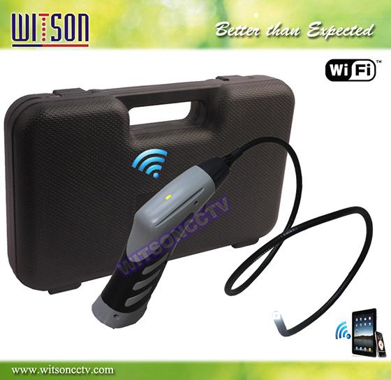Witson WiFi Wireless Industrial Borescope Endoscope Inspection Camera, (W3-CMP3816W)