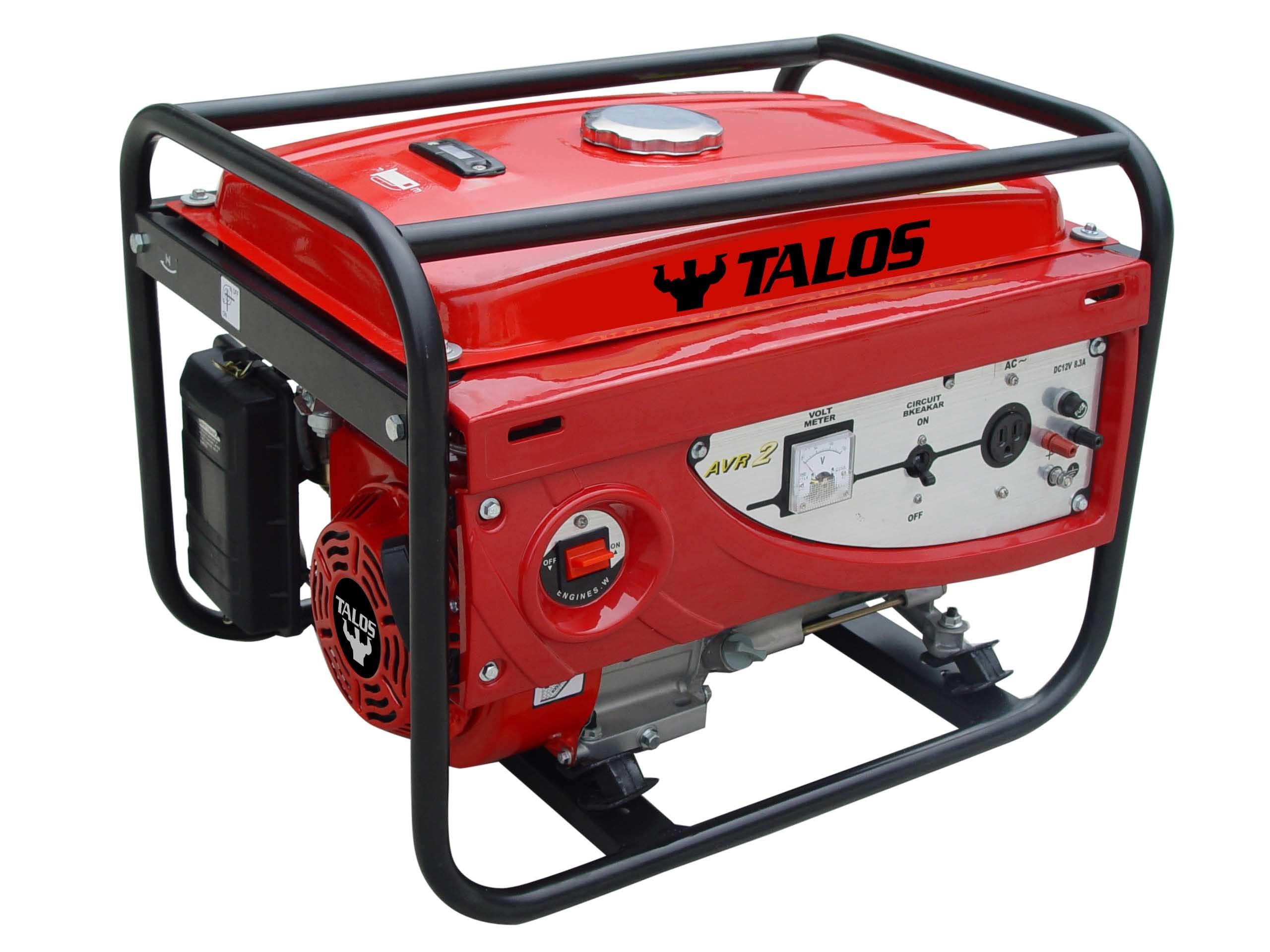 China 7 kVA Portable Gasoline Generator TG8000 s &