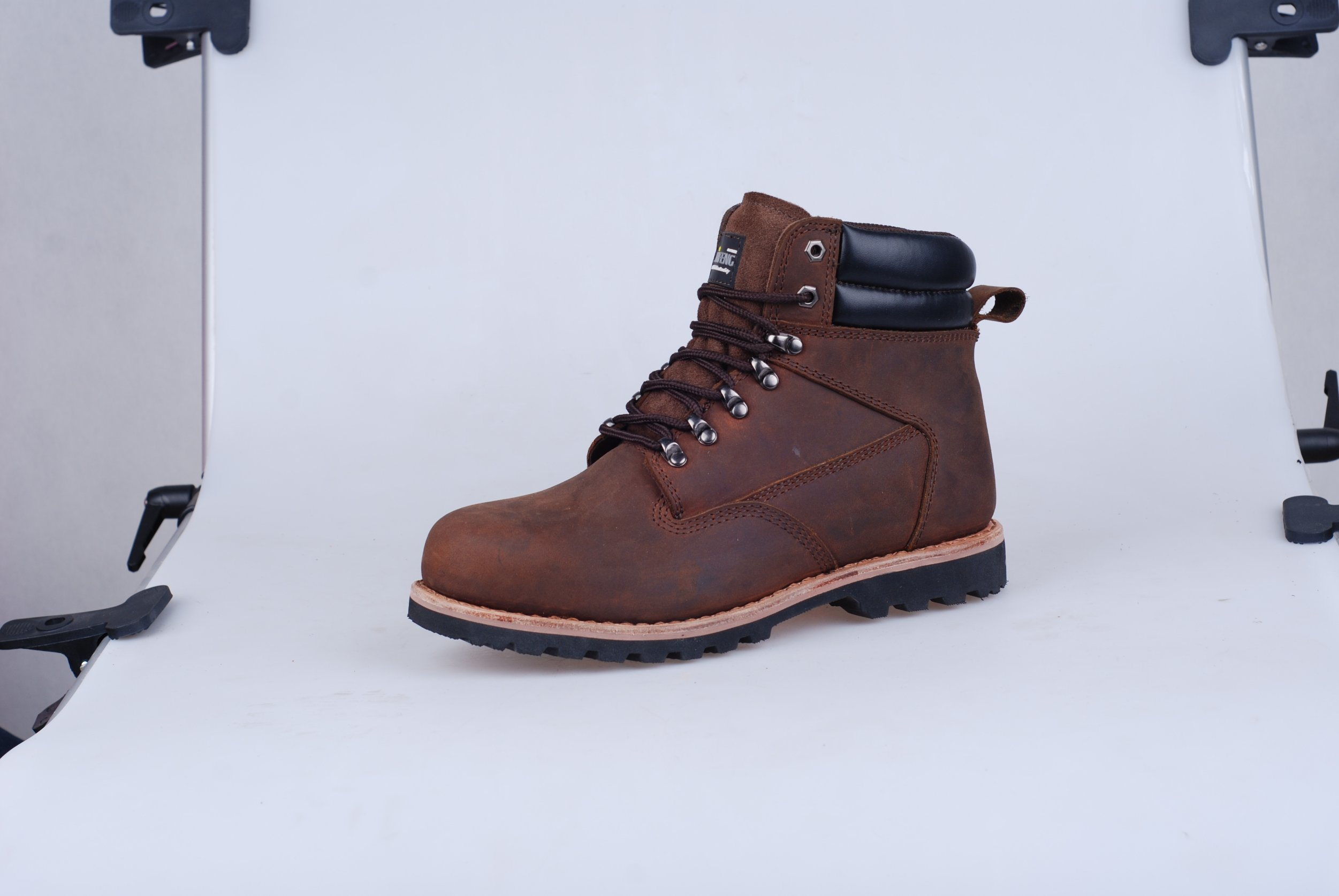 En Certificate Cow Leather Safety Shoes