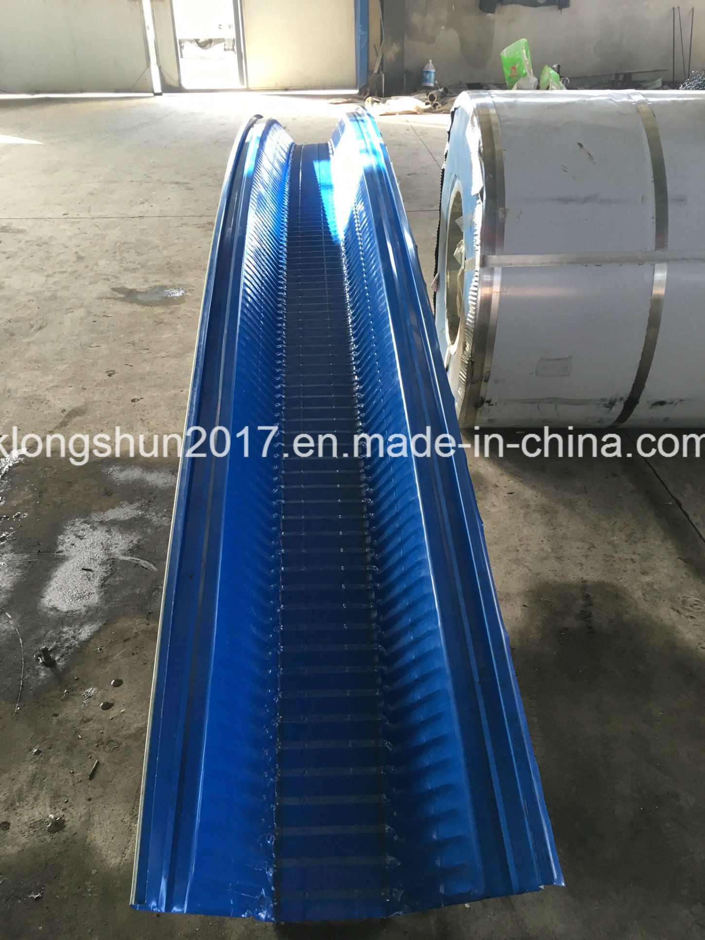 Full Hydraulic Steel Building Span Roll Forming Machine