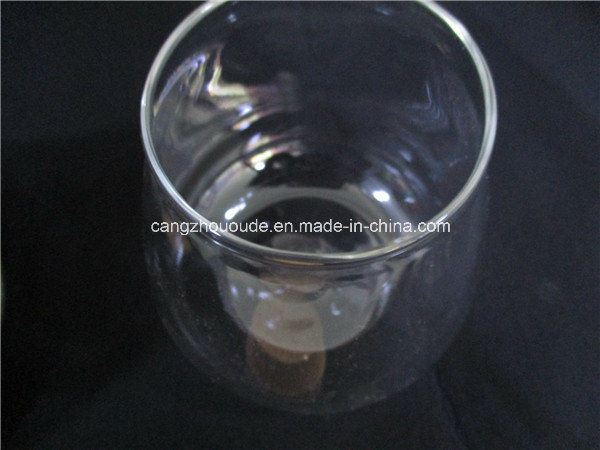 Glass Vase with Cover