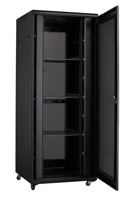 Jb 800 Wide Server Cabinet Rack Vent Door Black