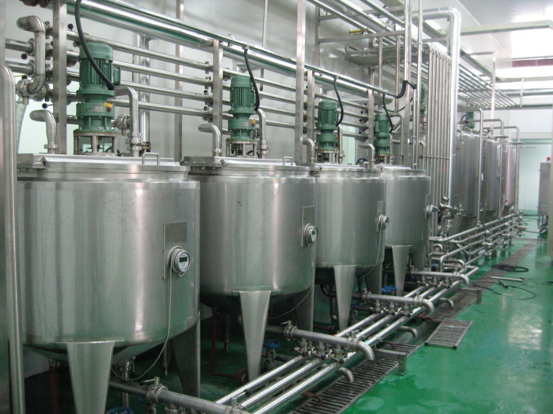 Hot Filling Bottled Beverage Processing Machinery (1-40TPH)