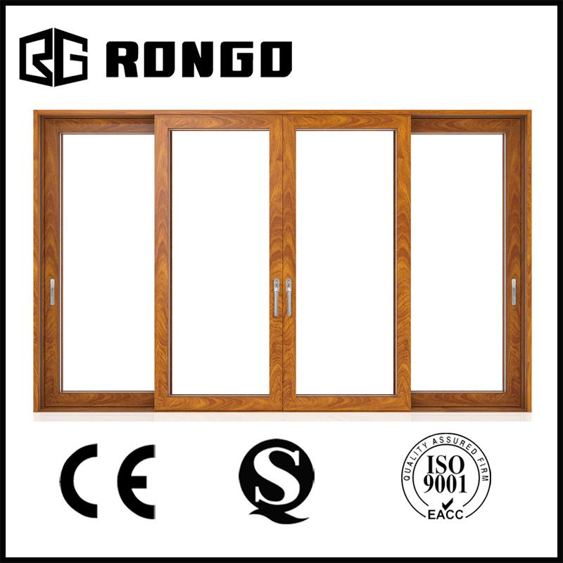 Rongo Australian Standard Aluminum Frame Modern Exterior Front Doors for Homes