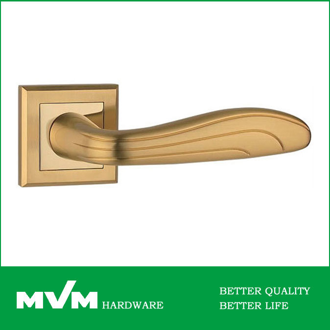 Wenzhou OEM Z1263e8 Zinc Door Handles Lock, Hardware Supplier