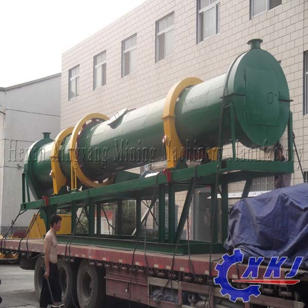 High Quality Slag Rotary Dryer Gypsum Rotary Dryer Sludge Rotary Dryer for Sale