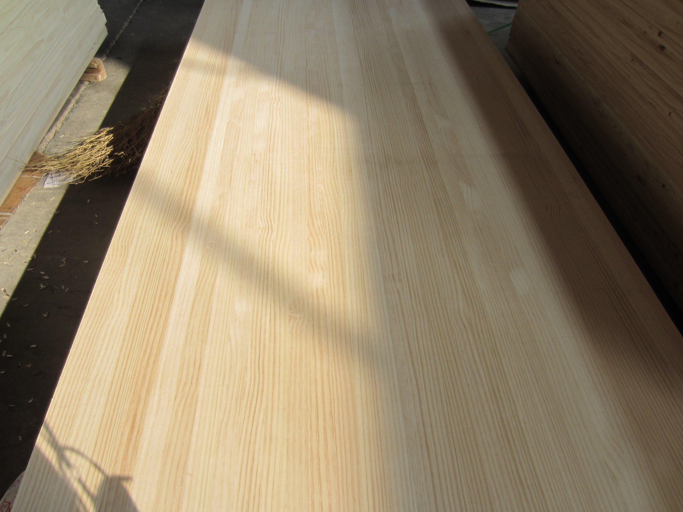 915X2300 Size Pine Edge Glued Panel for Korea Market