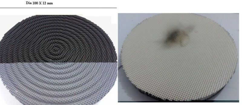 Infrared Honeycomb Ceramic Plate