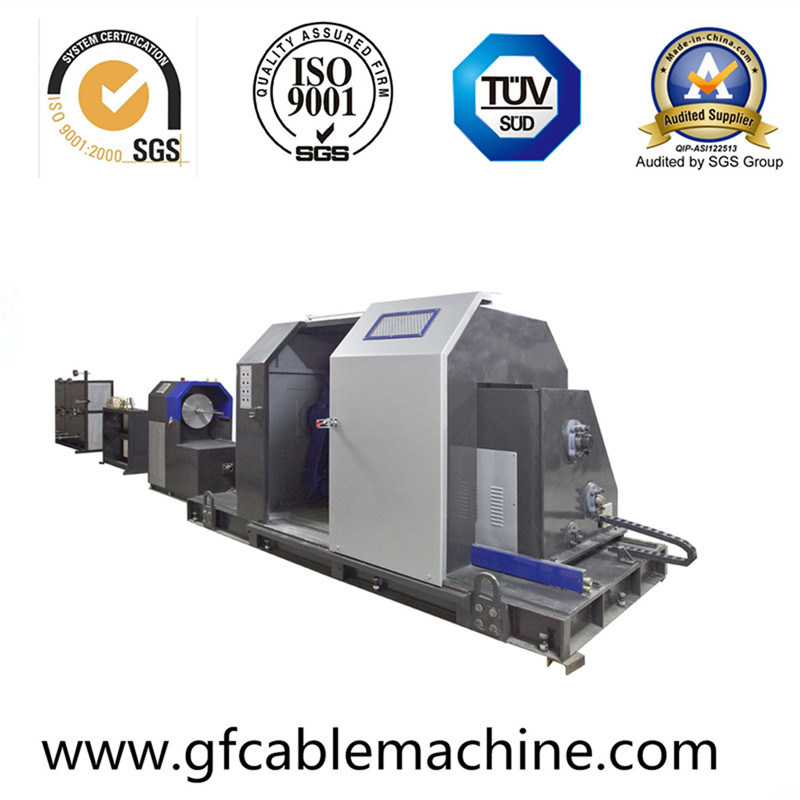 Cantiliever Type Wire Cable Single Stranding Machine