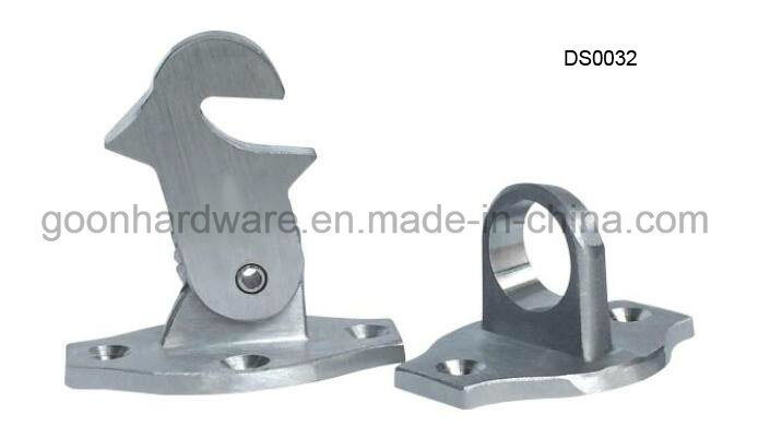 Zinc Door Stopper with Rubber Ds0030