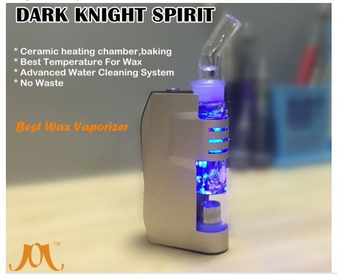 2016 Electronic Cigarette Wholesale Ceramic Heating Vaporizer E Cig Jomo Wax Vaporizer Dark Knight Spirit