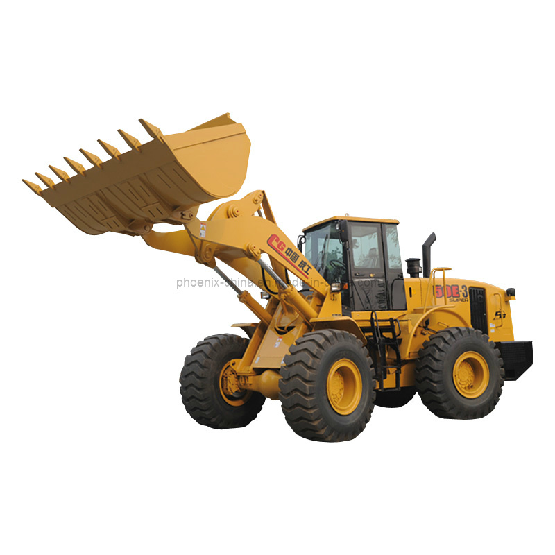 China Best Chenggong 5ton Wheel Loader Zl50e-3 Super with 3m3 Bucket