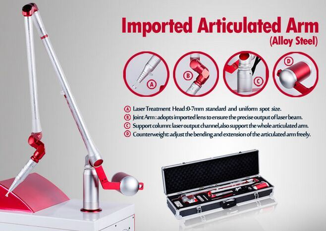 Medical ND YAG Laser Beauty Equipment for Tattoo Removal