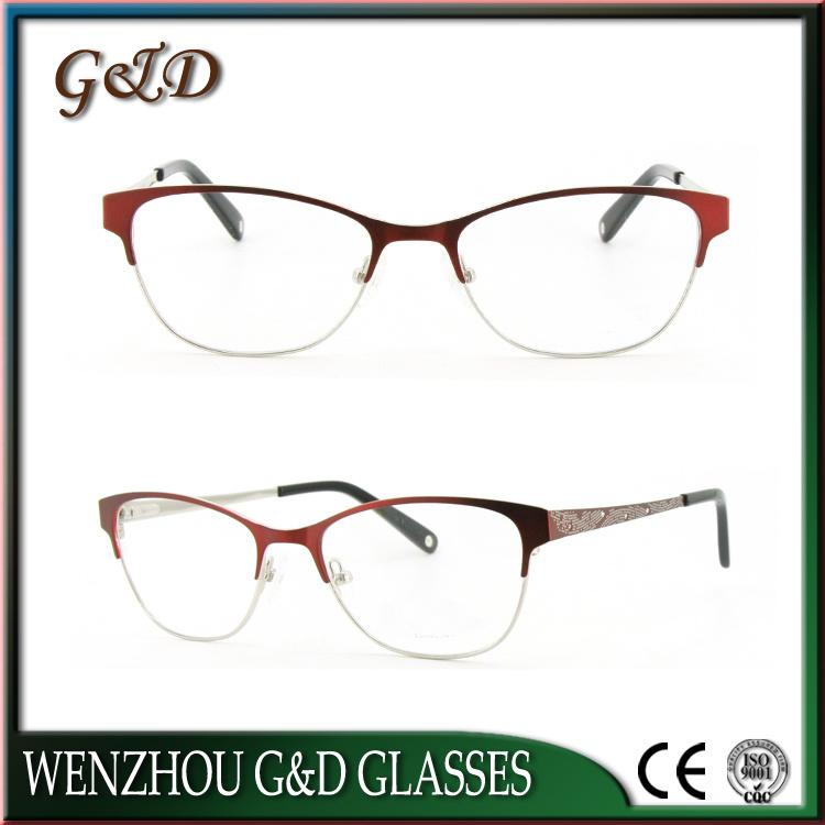 Fashion Design Metal Eyewear Eyeglass Optical Frame 49-505